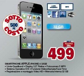 Apple iPhone 4 da 32 GB