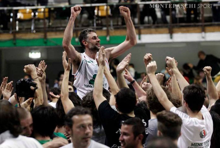 Montepaschi di Siena vince gara-5 play off