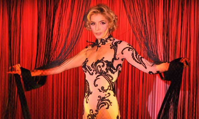 Clotilde Courau  al Crazy Horse