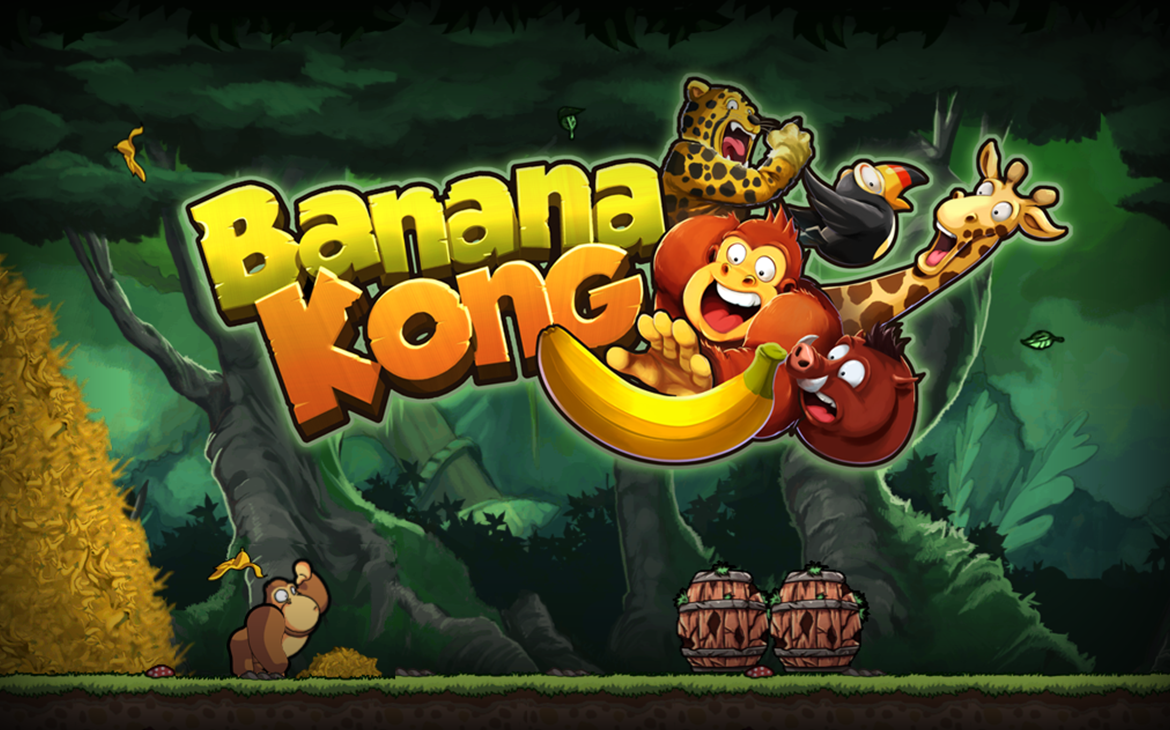 banana kong gamer quest