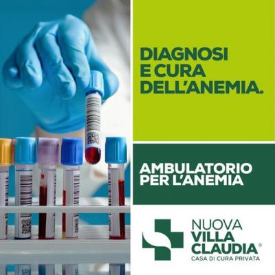 Ambulatorio per l'anemia a Nuova Villa Claudia