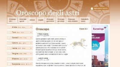 home page astrooroscopo