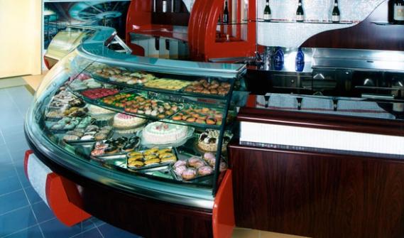 Arredamento bar gelateria usato for Arredo bar usato