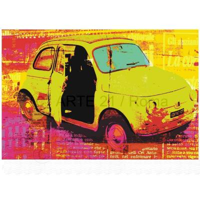Fiat 500 stile Pop Art
